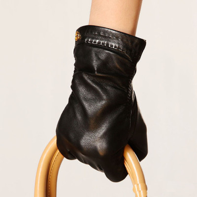 Hot sale 2012 new Women's leather gloves the / imports sheepskin