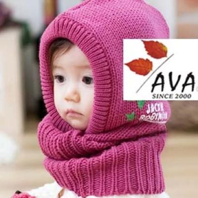 Design Cute Star Children Hooded Scarf