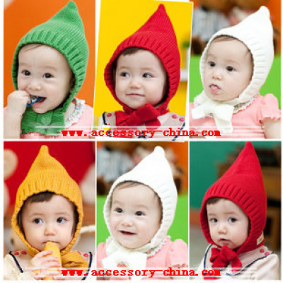 New Autumn And Winter Baby Wool Cap