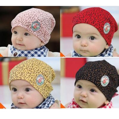 New Baby Leopard Cotton Hat