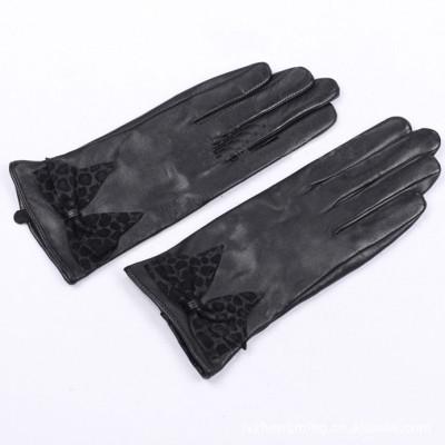 Factory direct custom leather gloves wholesale  sheepskin gloves 2012 export