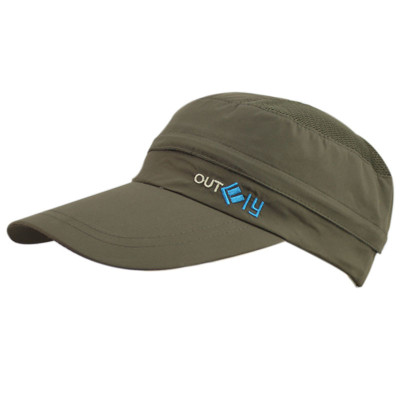 The empty top cap dual-use batch unisex crowns detachable sun protection sun hat lengthened eaves