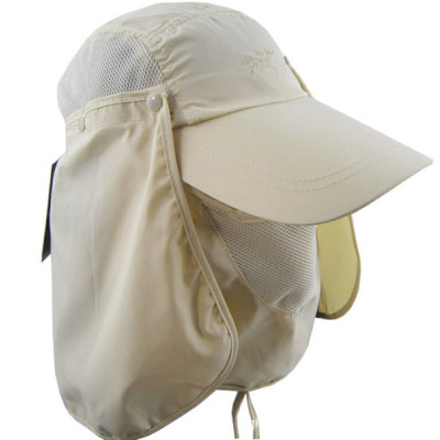 360-degree sun protection outdoor hats wholesale with shawl guard neck jungle hat