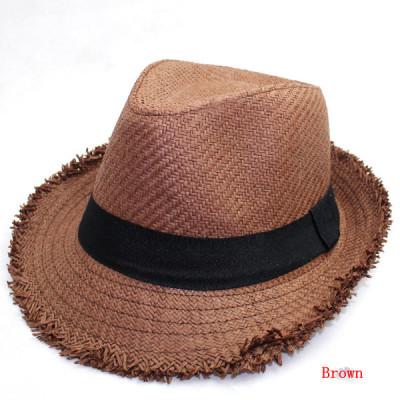 Summer Cowboy Wind The Popular Beach Visor Straw Hat