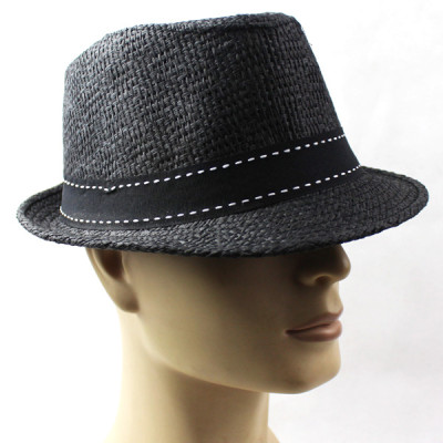 Summer New Solid Color Trendy Straw Hat