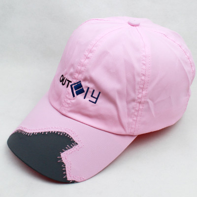 Hit the color tide fashion stitching visor outdoor hats sun hat wholesale baseball hats factory direct supply