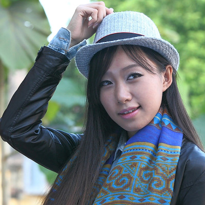New Autumn And Winter Wool Blend British Style Elegant Hat