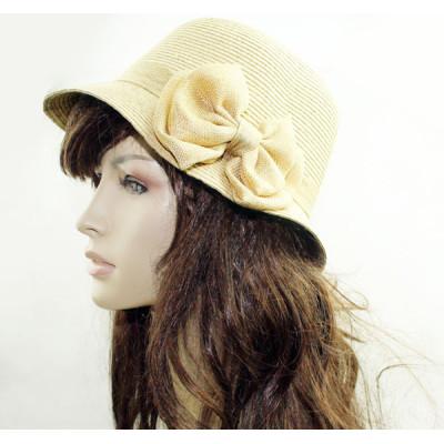 Big Bow Straw Sun Hat Straw Handmade Papyrus Hat