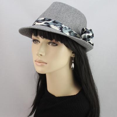 Flax Three Flower Popular Fashion Hat