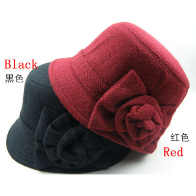 Ms. Wool Fashion Cap