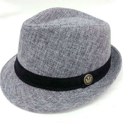 Waist Personality Deduction For Male And Female Gentleman Breathable Leisure Natural Hemp Sense Hat