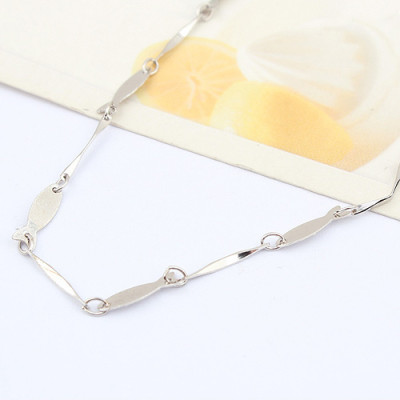 [Free Shipping]jewelry the Special Silver 16-inch-plated white batch angle fish-shaped necklace with chain / factory direct wholesale