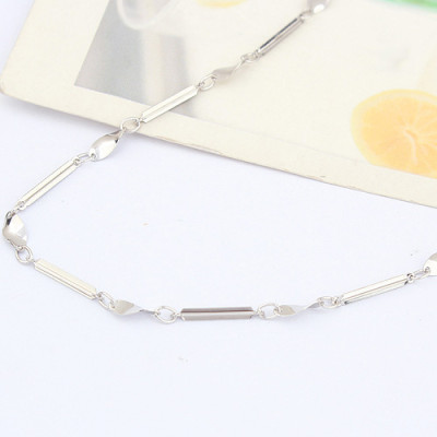 [Free Shipping]the egg slices between the 18-inch special Silver plated white cross necklace with chain / factory direct wholesale