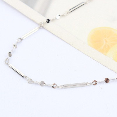 [Free Shipping]jewelry  Special Silver 16-inch cross necklace with chain / factory direct wholesale