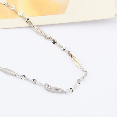 [Free Shippingjewelry the Special Silver 16 -inch kernels Gypsophila Necklace with chain / manufacturers direct wholesale