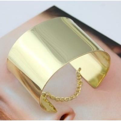 Free shipping metal mirror bracelets to spread the glossy bangle bracelet