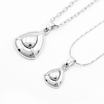 [Free Shipping]jewelry lovers necklace - heart-to-heart