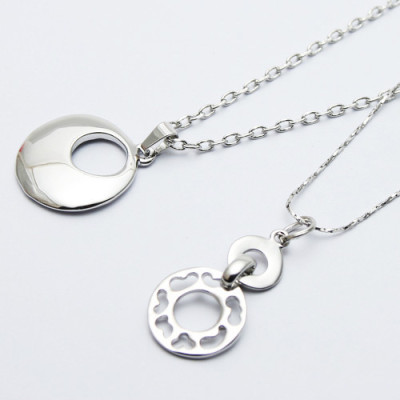 [Free Shipping] couple bead necklace - love symbol