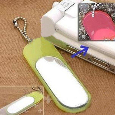 [Free Shipping] Measuring UV discoloration fashion phone pendant with mirror
