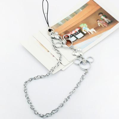 [Free Shipping] Cute cartoon fashion phone chain