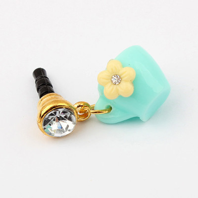 [Free Shipping] Fashion sweet flower dustproof plug