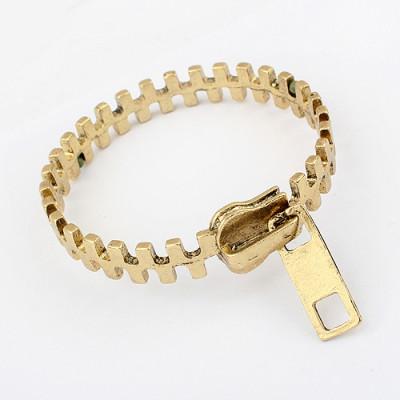 [Free Shipping] European And American Personality Retro Zipper Bracelets