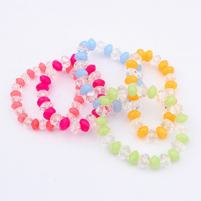 [Free Shipping] Beautiful crystal the golden wild bracelets (color random)