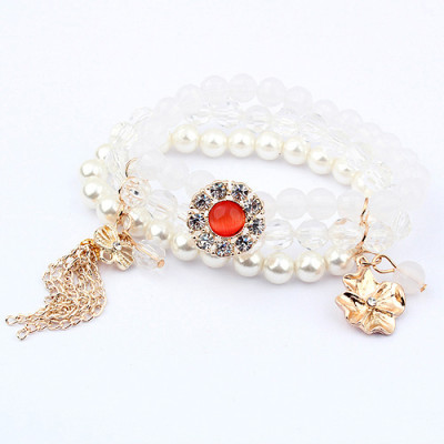 [Free Shipping] Noble temperament crystal bracelet