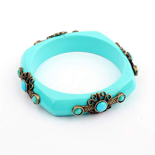 [Free Shipping] European And American Fashion Personality Box Bracelet