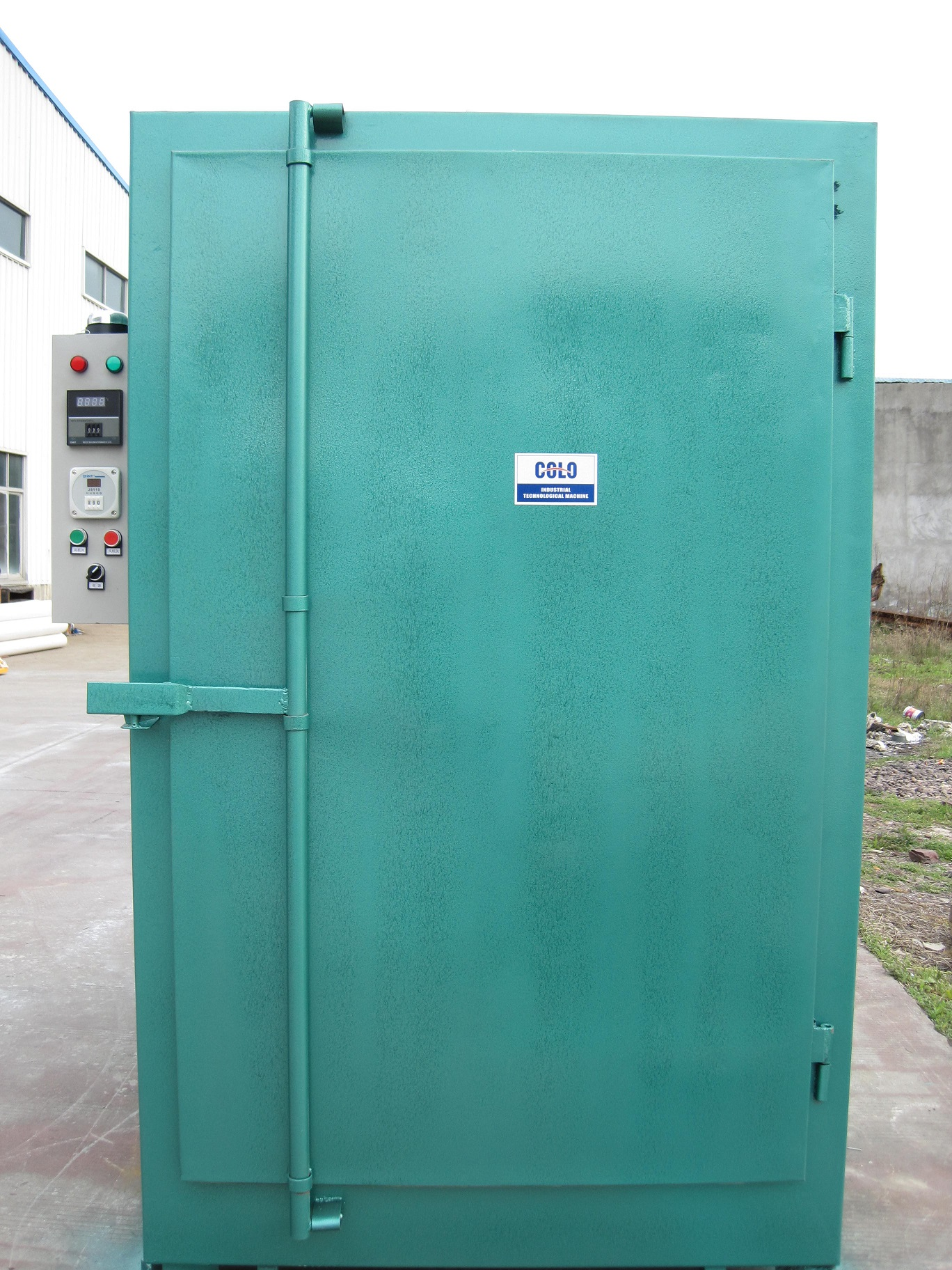 Pictures of powder coat coating electric curing oven for Paint curing oven