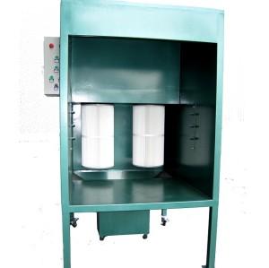 manuellen Pulverkabinen