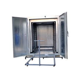 Electrostatic powder coating oven