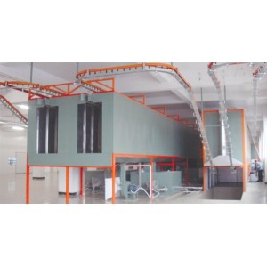 Bridge Type Powder Paint Curing Oven