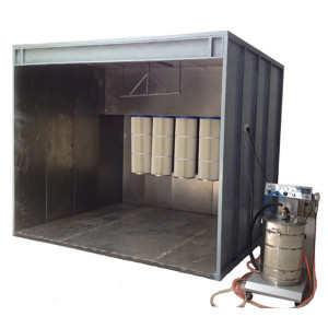 Walk- in Powder coating spray Booth