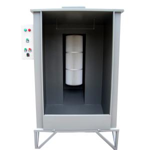 Basic powder cartridge booth system