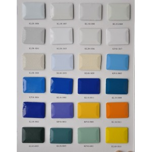 Poliéster puro de pintura en polvo