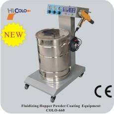 elektrostatischen pulver spritzmaschine
