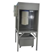 Kleine- Größe Labor pulversprühkabine