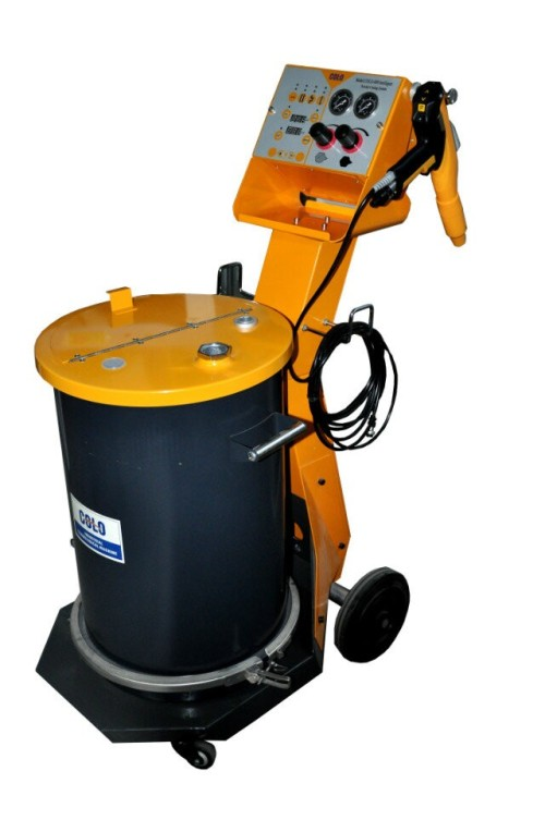 Nový práškový lakovací stroj COLO-800D-L2
