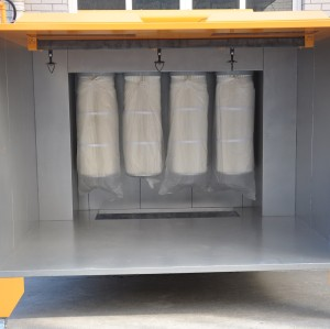 Pulver lakierung kabinen