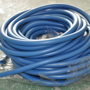 Electric conduction powder hose