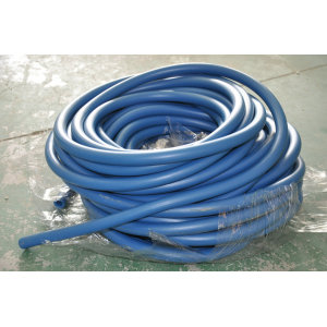 Electric conduction powder hose