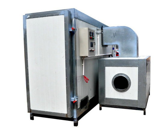 powder curing oven by lpg