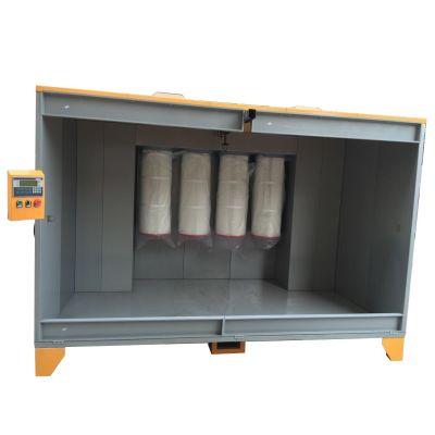 Velká stříkací kabina s PLC