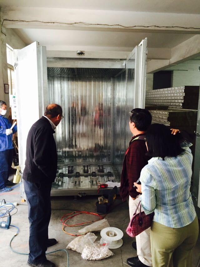 colo electric powder cuting oven