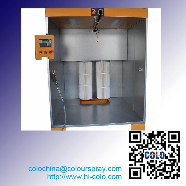 colo-s-1517 powder coat spray booth