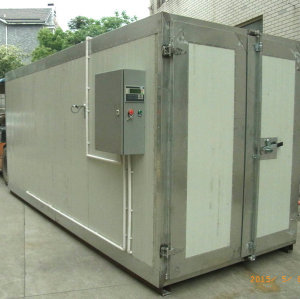 4.5M Long powder curing oven