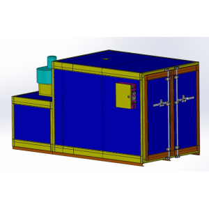 powder coating Gas fired ovens