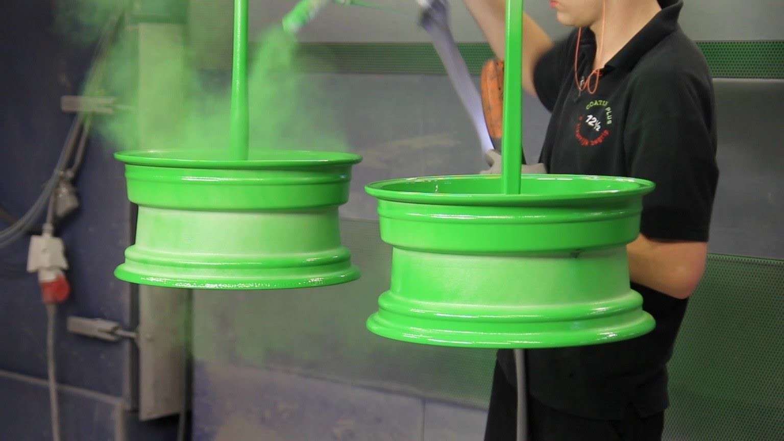 Wheel refinishing applications