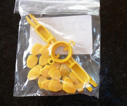 Práškové lakovací díly 2324124 Dodavatel
